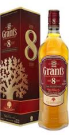 Grant's 8 Year Old Scotch Whisky 700mL /43%