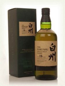 Hakushu 18 Year Old 700ml/43%